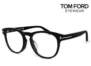 トムフォード メガネ アジアンフィット TF-5426 001 tf5426 TOM FORD 眼鏡 TF5426F 黒ぶち tomford ボストン 丸めがね メンズ 黒縁
