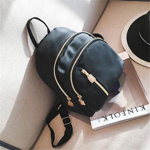 【bag】2Way Shoulder female oxford rivet  canvas  backpack