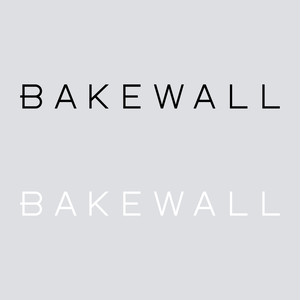 BAKEWALL LOGO CUTTING STICKER 【 M 】