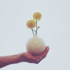 HAJIYOSHIDA(ハジヨシダ)地球の一輪挿し (φ10 x 高さ12cm) 陶磁器 地球儀 花瓶  土師吉田