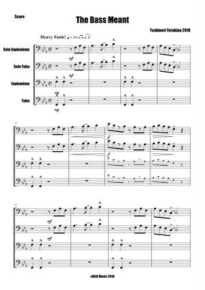 Solo Euphonium, Solo Tuba and Euphonium - Tuba Ensemble