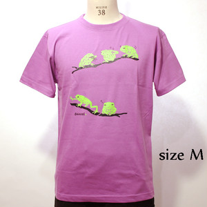 ソバネコTシャツ(Waxy Monkey Frog T-Shirts)