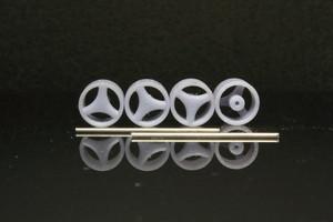 8.5mm エリート ニューポート タイプ 3Dプリント ホイール 1/64 未塗装