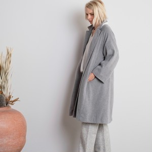 Soft Cashmere Coat / GRAY