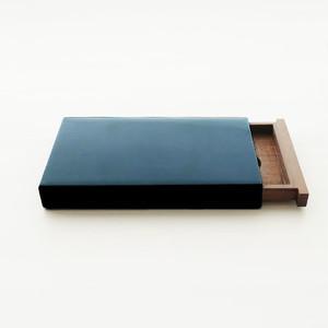 カード・名刺ケース スライド式 大 青