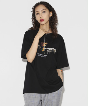 Creation of Adam T-shirt [Black]