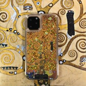 ARTiFY iPhone 11 Pro グリッターケース クリムト 生命の樹 ゴールド AJ00514