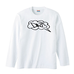 DWS GARAGE / SPEAKING DWS Long-sleeve tee [WHITE]