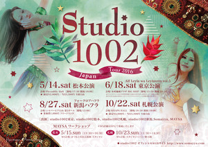 10/22土 Studio1002 札幌公演