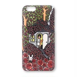 スマホケース(薔薇の隠れ家)iPhone8、iPhone7、6/6s、5/5s/SE