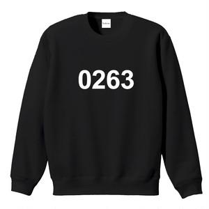 0263 スウェット ブラック