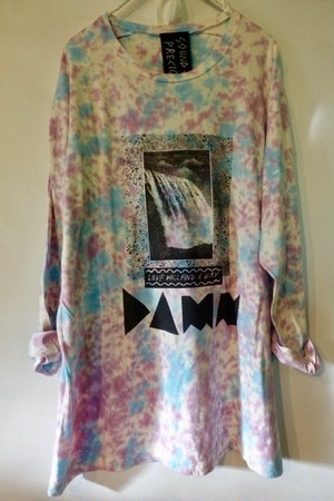 DAMN / organic cotton long sleeve