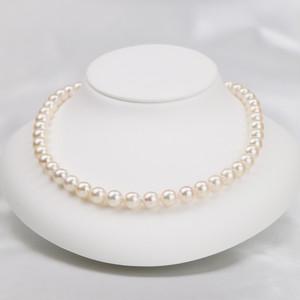 花珠真珠ネックレス 7.5-8.0mm