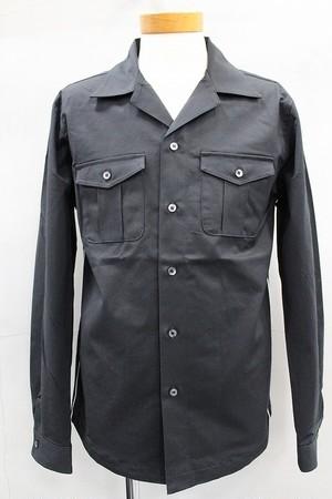 HALB ハルプ カルゼテーピングシャツ ブラック