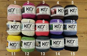 KFSオリジナル単色毛糸