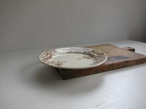 19c エミーユブルジョワ 絵皿 ディナープレートee