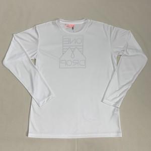 OneDropオリジナル TANIGAWA×OneDrop バックプリント ドライロングTシャツ