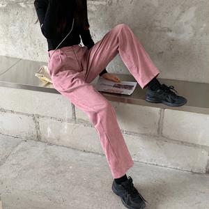 韓国風コーデュロイパンツ【Korean corduroy pants】