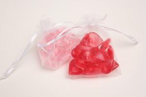 ハート碁石単品(赤10個 ピンク10個)
