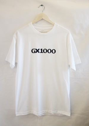 GX1000 LOGO Tシャツ  白 ジーエックス1000