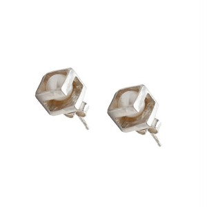 Co.Ro. Jewels NARA PAIR EARRINGS SILVER