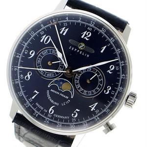 ツェッペリン ZEPPELIN クオーツ メンズ 腕時計 7036-3 ネイビー ネイビー