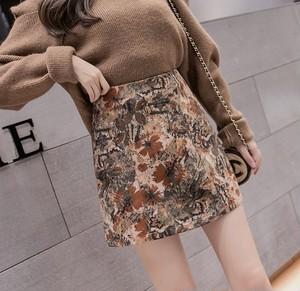 art flower skirt 2color