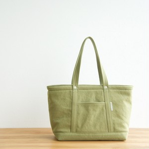 CANVAS TOTE FM / MOSS GREEN