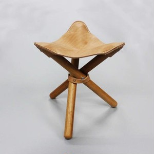 romo(ロモ) sansa chair ヌメ革折り畳み椅子