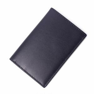 COMME des GARCONS (コムデギャルソン) 定期入れ カードケース パスケース 名刺入れ ミニ財布 レザー SA6400 ネイビー NAVY ユニセックス メンズ レディース [全国送料無料] r015086