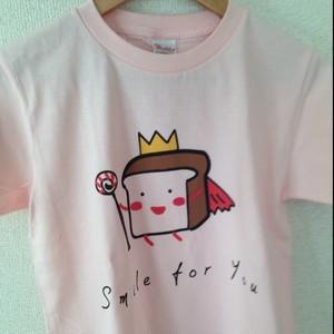 ただのしょくぱんTシャツ ほのぼのピンク