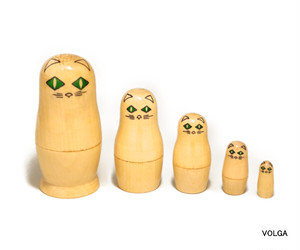 DIA CAT Matryoshka 5 piece