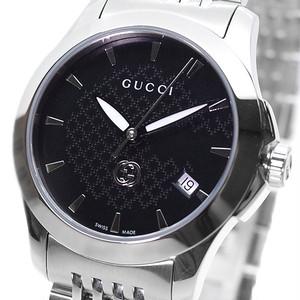 グッチ GUCCI 腕時計 レディース YA1265006 クォーツ ブラック シルバー