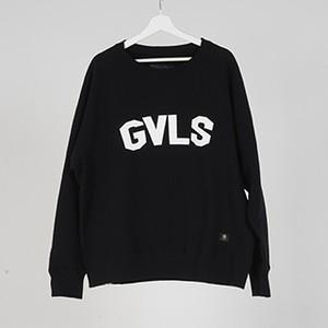 """L/S SWEAT """"GVLS"""" (BLACK) / GAVIAL"""