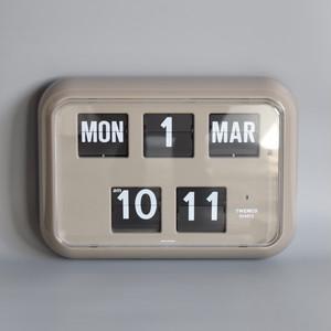 TWEMCO デジタルカレンダークロック  #QD-35