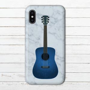 #089-003 iPhoneケース スマホケース ロック 系 おしゃれ メンズ iPhoneXS/X Xperia ケース クール シンプル ARROWS AQUOS タイトル:guitar 作:7.7.4(ナナシ)