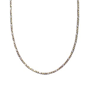【14K-3-7】20 inch 14K real gold chain necklace