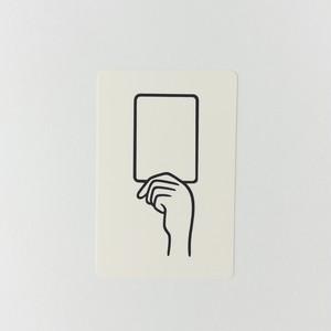 ポストカード WHITE CARD