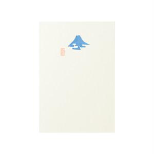 好日はがき かすみ富士 PC-4