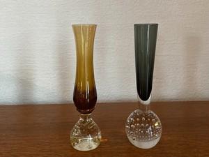 〈vintage〉bubble flower vase