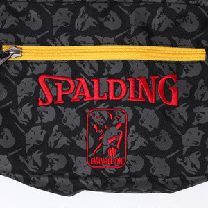RADIO EVA 722 EVA-01 Shoulder Bag by SPALDING  Black x Red / EVANGELION エヴァンゲリオン