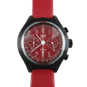 VAGUE WATCH CO.【2EYES クロノグラフ RED】