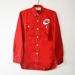 No92 Work Shirts /No92 × MUSHMANS コラボレーション 長袖 ワークシャツ