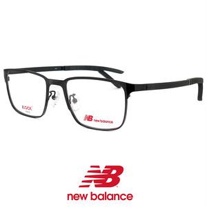 ニューバランス メンズ メガネ nb05161-1 New Balance 眼鏡 男性 ニュー バランス new balance ウェリントン メタル