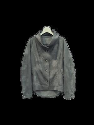 【期間限定価格】ムラ染めプリント刺繍ジャケット【294-4141】