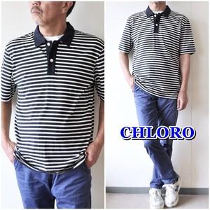 クロロ CHLORO 半袖ポロシャツ CS5042 メンズポロシャツ