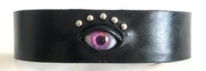 eye choker / pink
