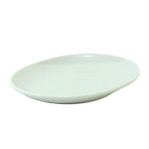 西海陶器 波佐見焼 「コモン」 オーバルプレート 皿 190mm ホワイト 17040