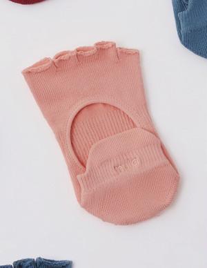 Core power Toe socks  (half toe) : Pale pink