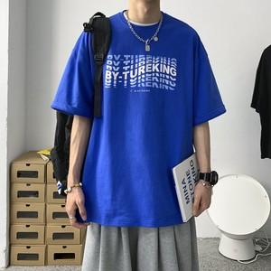 オーバーラッピングレタープリントTシャツ